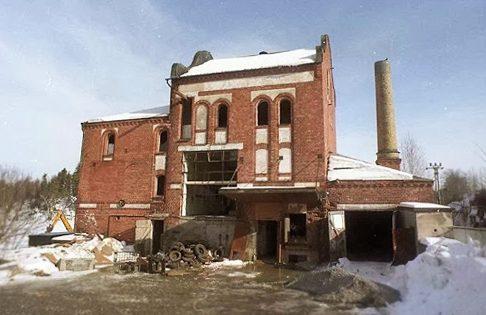Gnesta bryggeri innan renovering