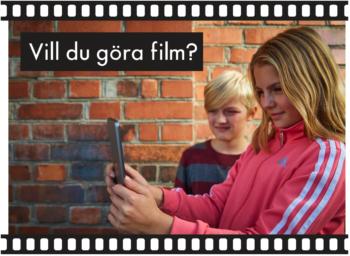 Under höstlovet: Kom och filma med oss!
