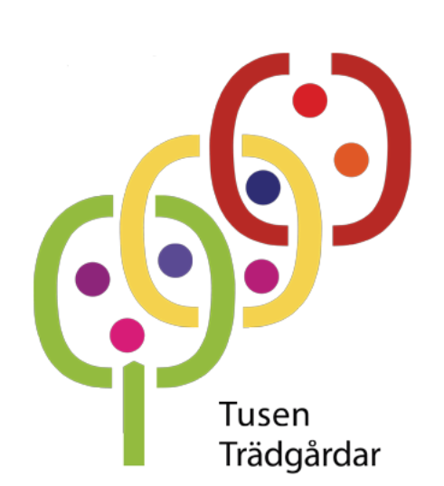 Tusen trädgårdar logotyp