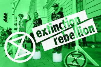 Vad gör en rebell för att stoppa klimatförändringarna? Samtal med Extinction Rebellion